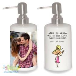 Dispenser sapone personalizzato