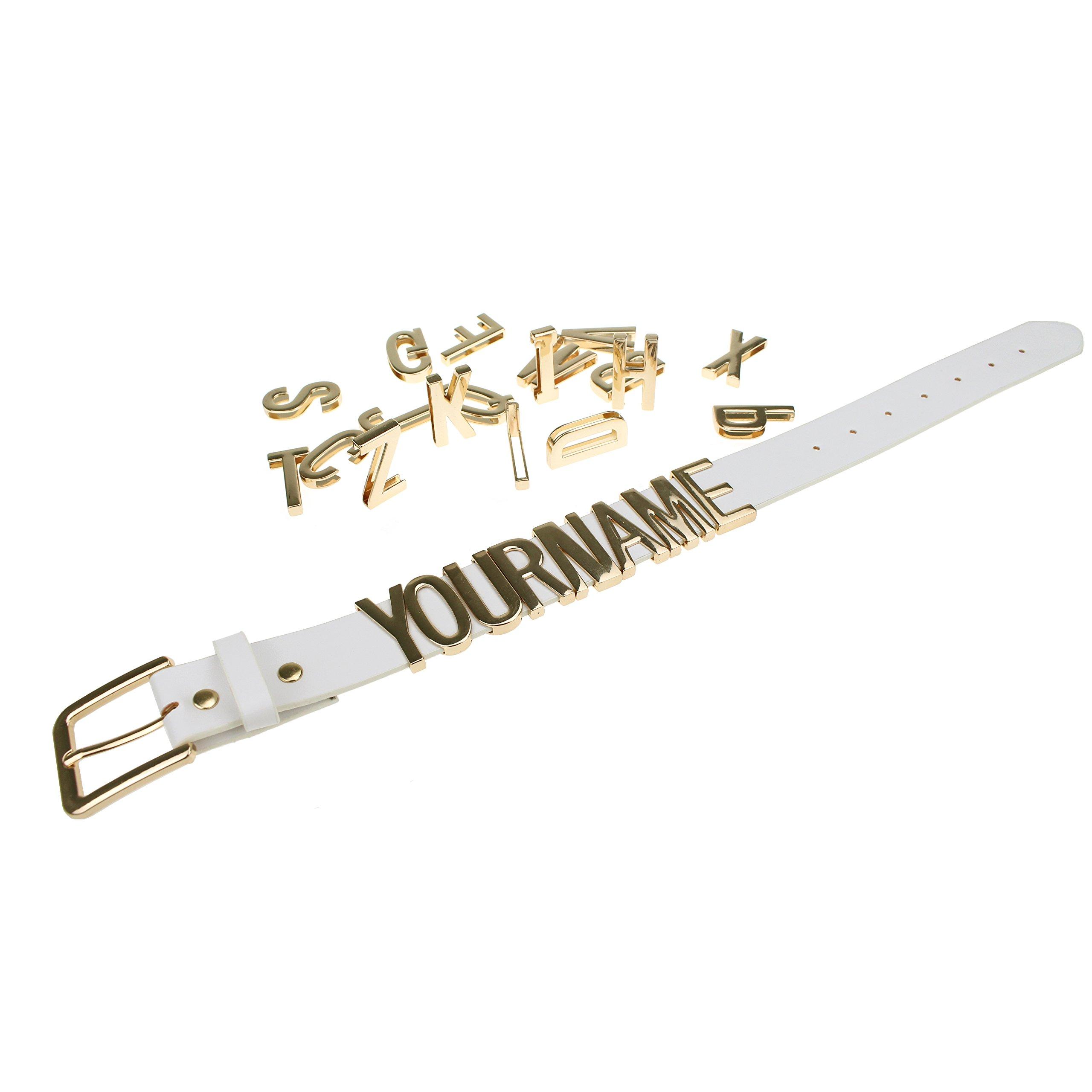 Raccogliere originale a caldo marchio popolare Cintura con Nome - Personalizza la Fibbia