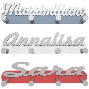 Appendiabiti personalizzato con nome