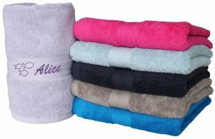 Asciugamani personalizzati con ricamo