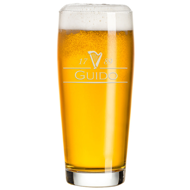Bicchiere da birra personalizzato - Porta bicchieri birra ...