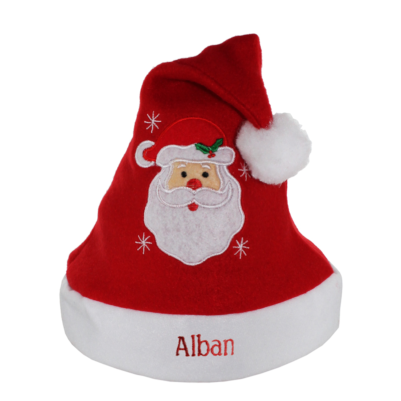 Cappelli di Natale personalizzata