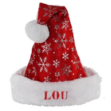 Cappello Babbo Natale con Nome