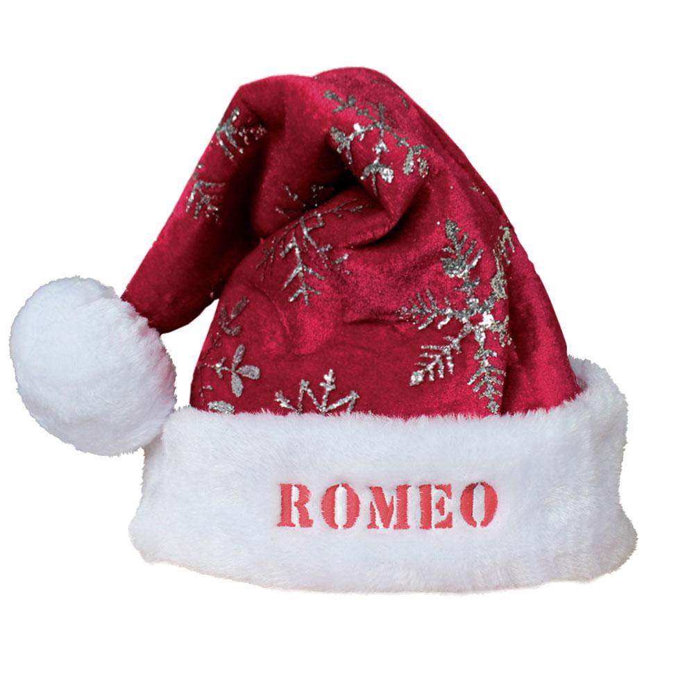 vari stili risparmia fino al 60% nuovi prodotti caldi Cappello Babbo Natale Personalizzato con Nome