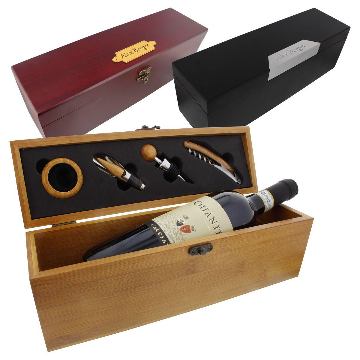 Cofanetto Vino personalizzato