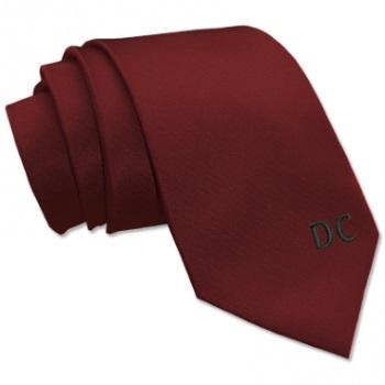Cravatta personalizzata con iniziali