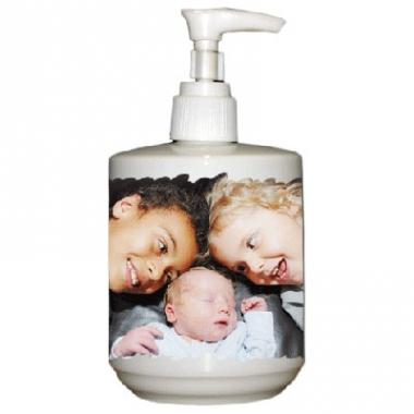 Dispenser per sapone con foto