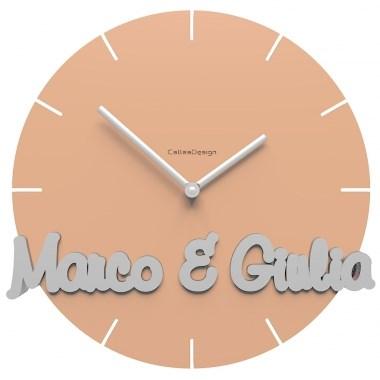 Orologio da parete personalizzato for Orologio digitale da parete ikea