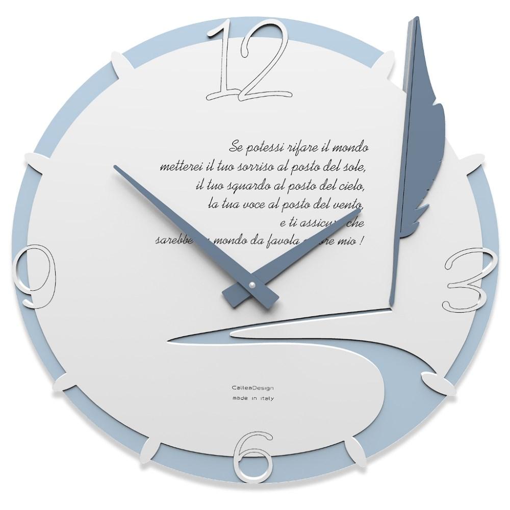 Orologio da parete con dedica