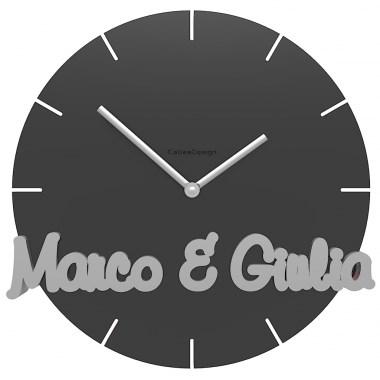 Orologio da parete con nome