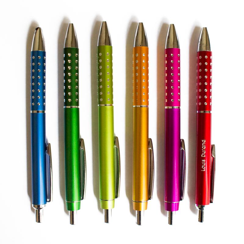 Penne colorate personalizzate