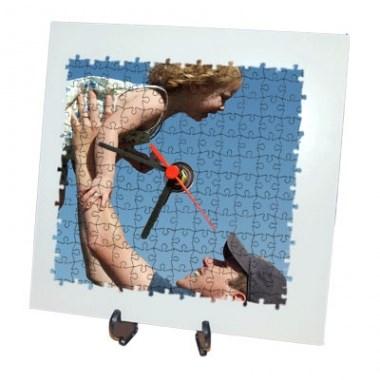 Puzzle orologio con foto