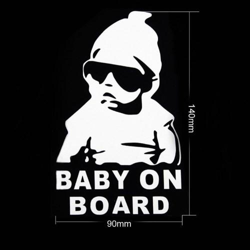 Adesivo baby on board personalizzato