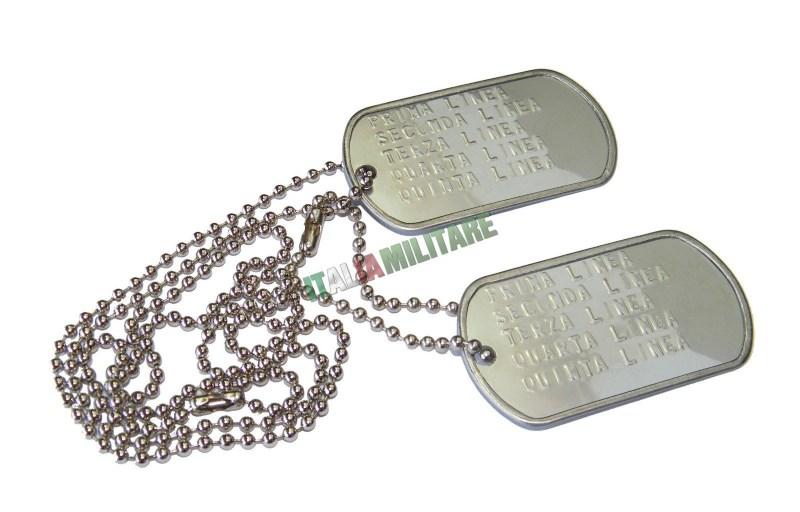Piastrine militari
