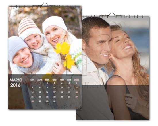 Calendario classico multipagina