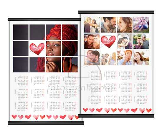 Calendario pagina singola