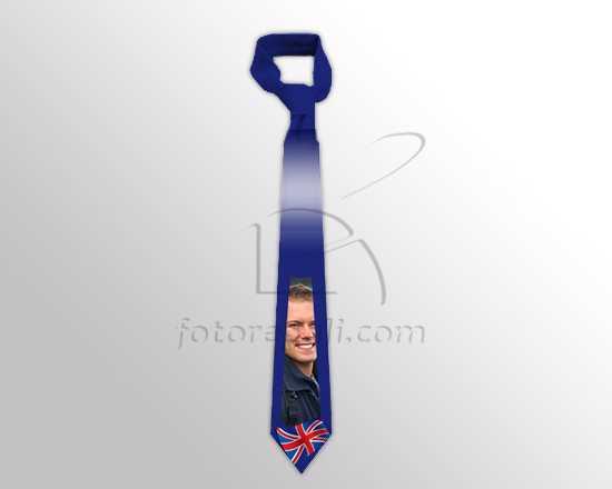 Cravatta con foto