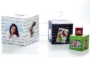 Cubo in tessuto personalizzato