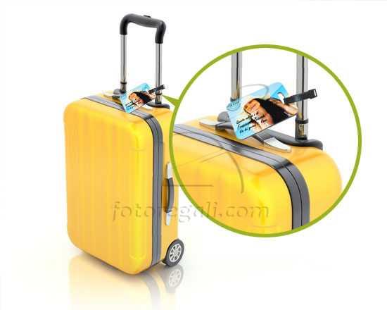 Etichetta personalizzata per bagaglio