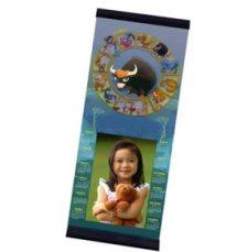 Calendario personalizzato con Foto e segno zodiacale