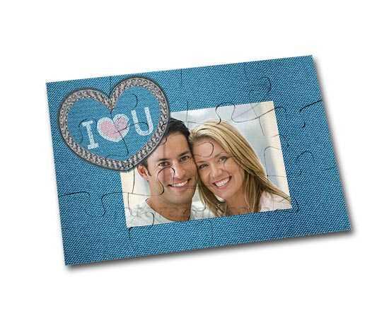 Magnete puzzle personalizzato