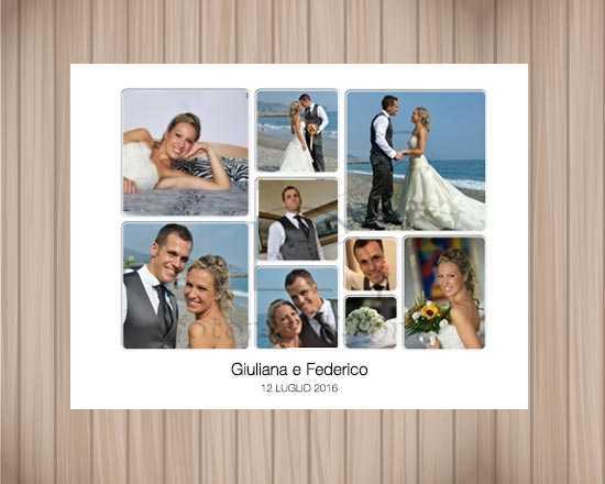 Poster con foto