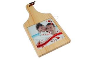 Tagliere in legno o vetro