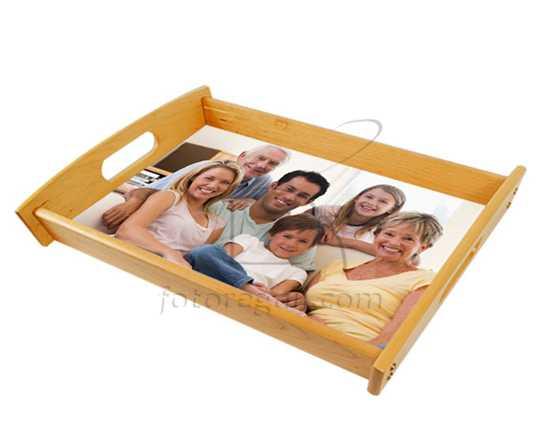 Vassoio in legno personalizzato