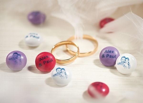MyM&M's confetti per matrimonio