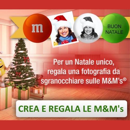 My M&M's per Natale