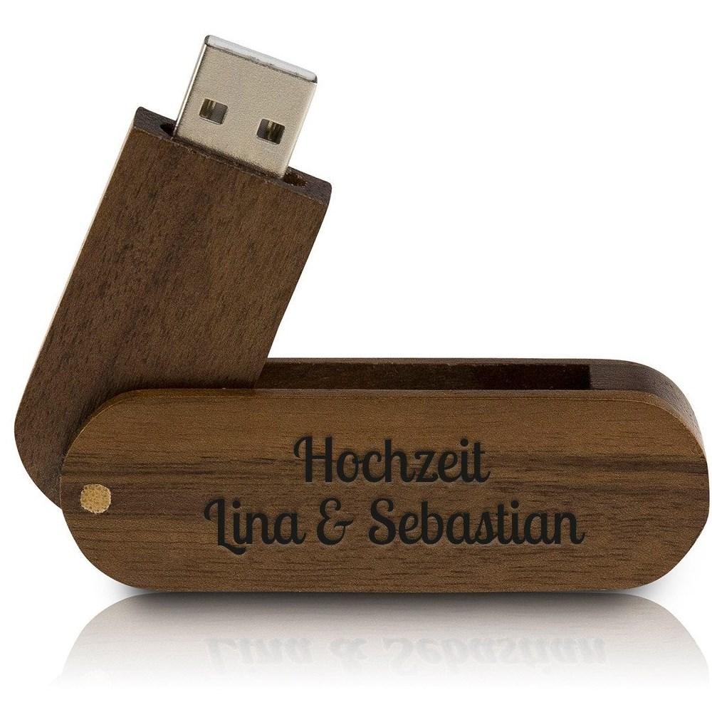 Chiavetta USB in legno