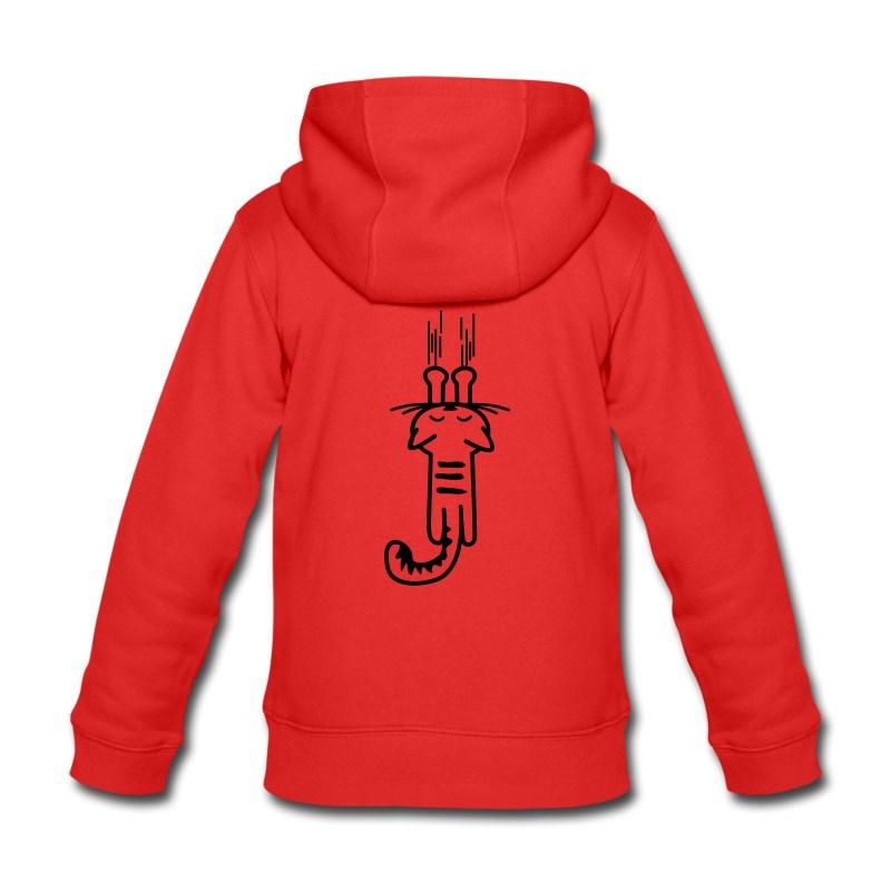online store bd12f 13368 Felpa con Zip Personalizzata