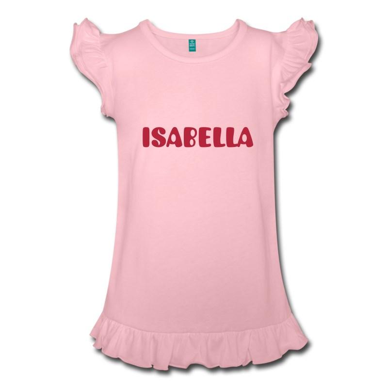Maglietta per bambina a sbalze
