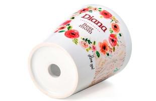 Vaso in ceramica personalizzato