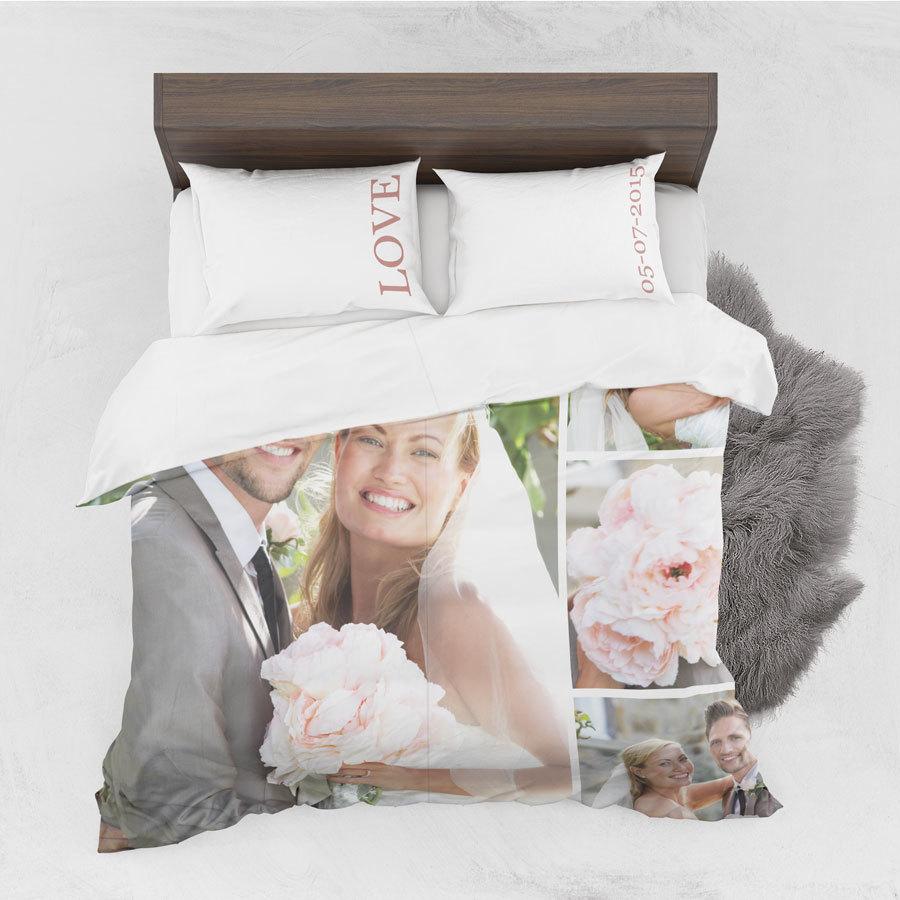 Coperta Matrimoniale Personalizzata Con Foto.Lenzuola Personalizzate