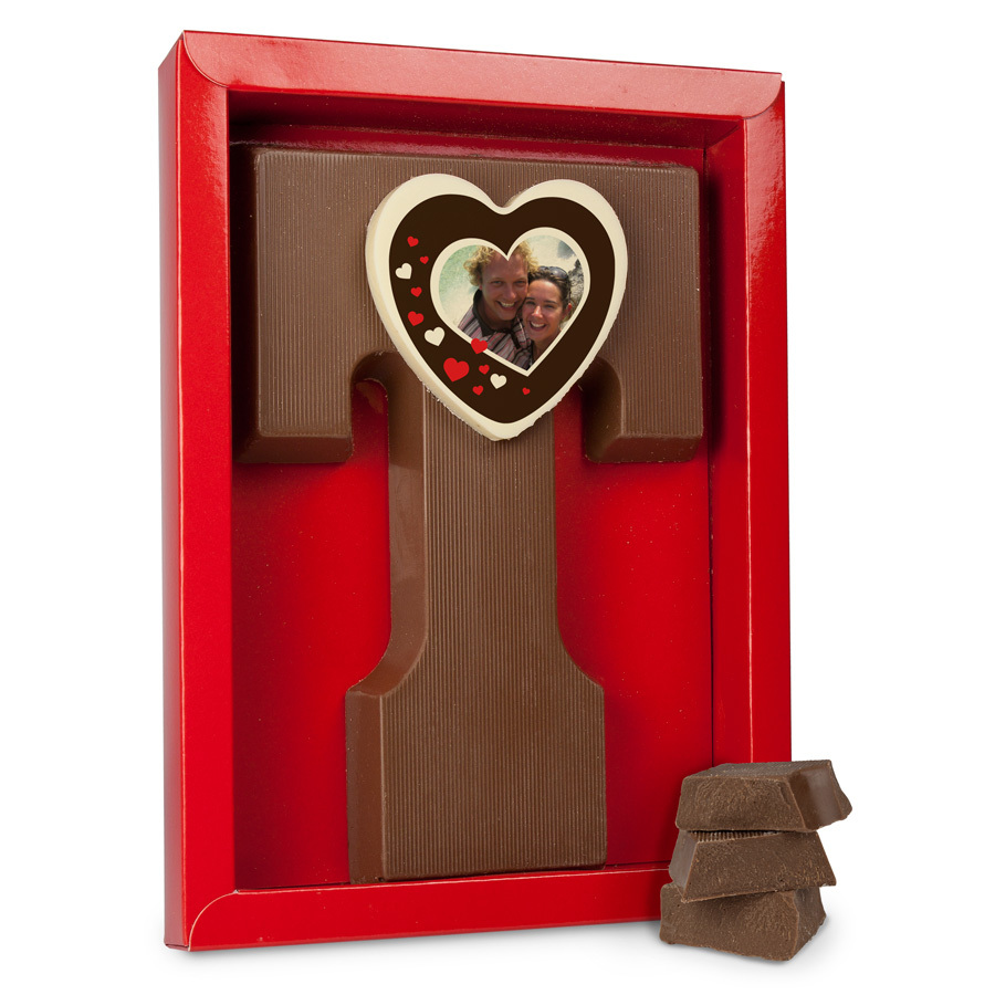Lettere di cioccolato